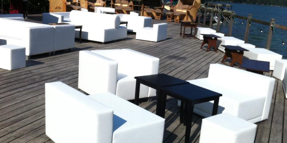 Mobili da sala, noleggio tavoli