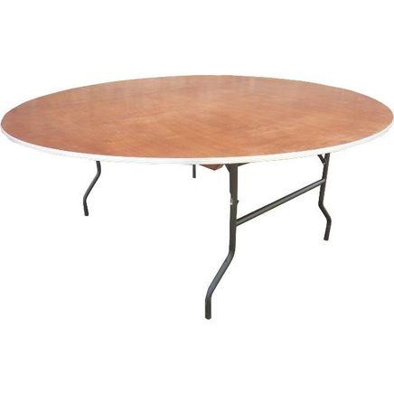 Bankett-Tisch, rund, <br> für 4-6 Personen