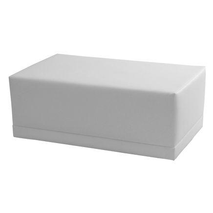 Elemento Lounge X3, ecopelle, bianco,