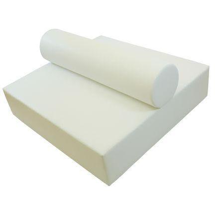 Lounge bianco, doppio
