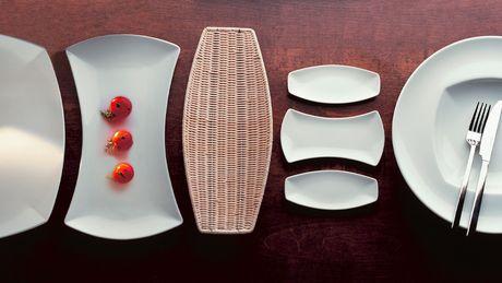 Fingerfood, porcellane, stoviglie